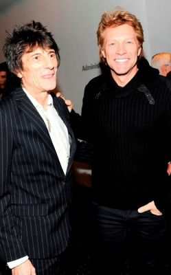 Ronnie Wood, Jon Bon Jovi