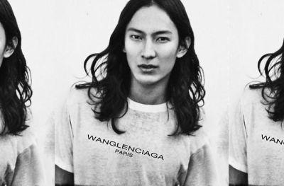 Wanglenciaga t-shirt