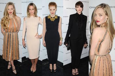 Amanda Seyfried, Anne Hathaway, Emily Blunt, Jessica Chastain
