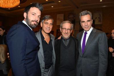 Ben Affleck, George Clooney, Steven Spielberg, Daniel Day-Lewis