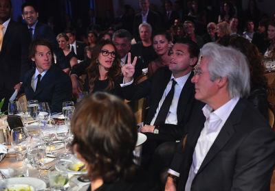 Daniel Moder, Julia Roberts, Leonardo DiCaprio, Richard Gere