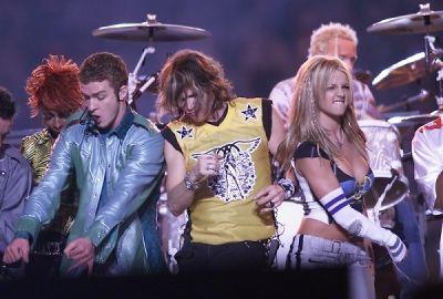 Justin Timberlake, Steven Tyler, Britney Spears