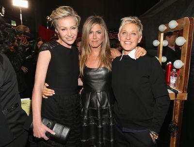 Portia De Rossi, Jennifer Aniston, Ellen DeGeneres
