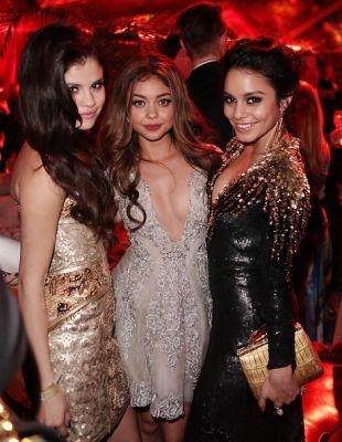 Selena Gomez, Sarah Hyland, Vanessa Hudson