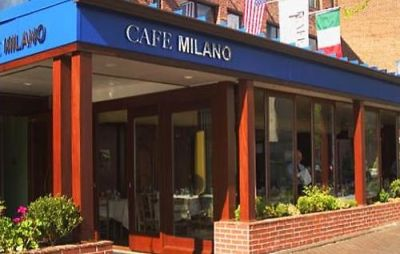 Potus, Flotus And Friends Dine At Cafe Milano