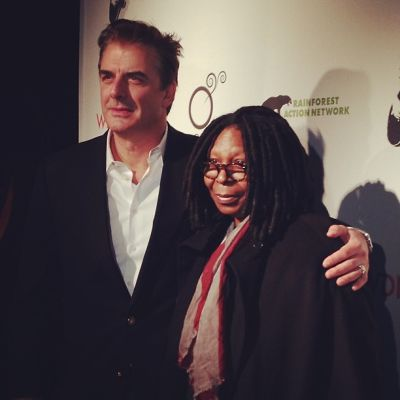 Chris Noth, Whoopi Goldberg