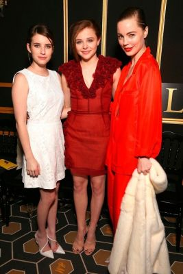 Emma Watson, Chloe Moretz, Melissa George