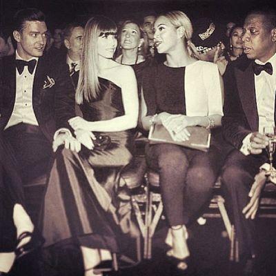 Justin, Jessica, Beyonce, Jay Z