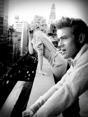 Marilyn Monroe, James Dean