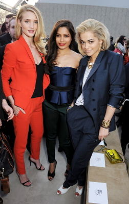 Rosie Huntington-Whiteley, Freida Pinto, Rita Ora