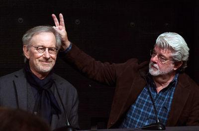 Steven Spielberg, George Lucas