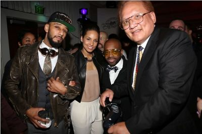 Swizz Beatz, Alicia Keys, Jermaine Dupri