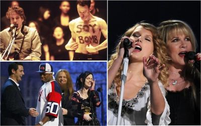 The 10 Most Ridiculous Moments In Grammy Awards History