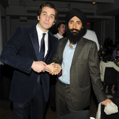 Jamie Johnson, Waris Ahluwalia