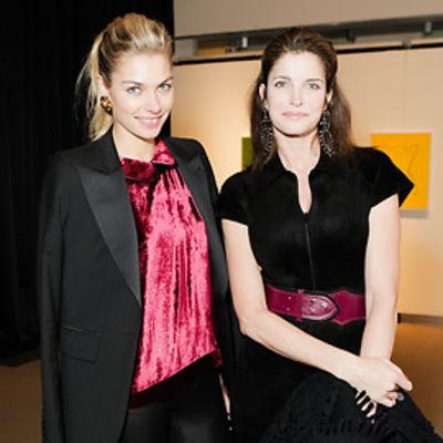 Jessica Hart, Stephanie Seymour