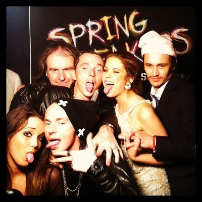 Sidney Sewell, Thurman Sewell, Ashley Benson, James Franco