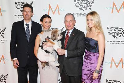 Wayne Pacelle, Georgina Bloomberg, Michael Bloomberg, Amanda Hearst