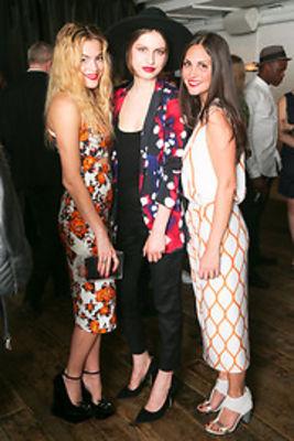 Chelsea Leyland, Tali Lennox, Sabine Heller