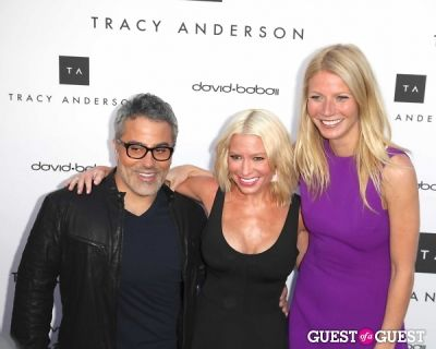David Babaii, Tracy Anderson, Gwyneth Paltrow