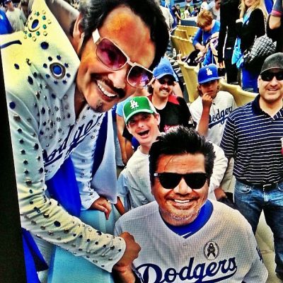 Dodger Elvis, George Lopez