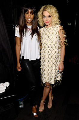 Kelly Rowland, Rita Ora