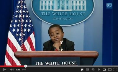 Kid President Steps In For President Obama On April Fools