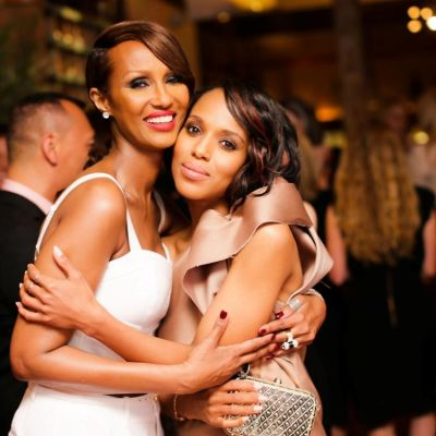 Iman, Kerry Washington