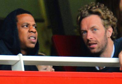 Jay-Z Chris Martin