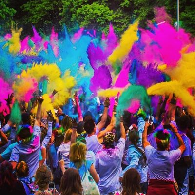 Instagram Round Up: Berlin Holi Festival 2013