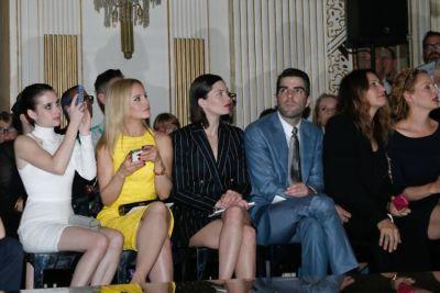 Emma Roberts, Mena Suvari, Delphine Chaneac, Zachary Quinto