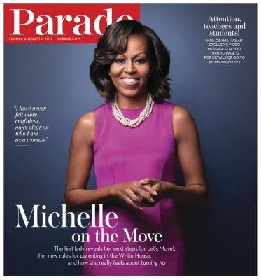 Michelle Obama On Parade Magazine