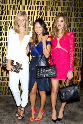 Jessica Stein, Aimee Song, Chiara Ferragni
