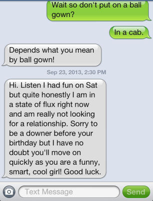 The Craziest Response To A Breakup Text EVER!
