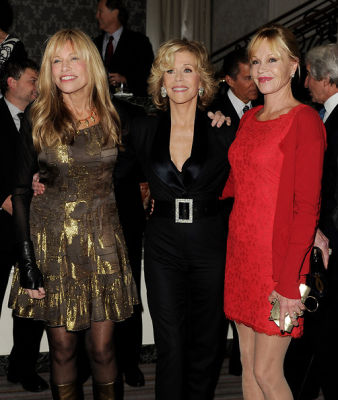 Carly Simon, Jane Fonda, Melanie Griffith
