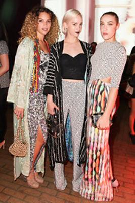 Cleo Wade, Margot, Mia Moretti