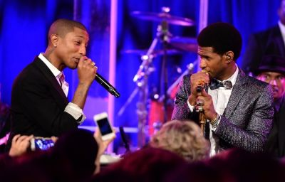 Pharrell Williams, Usher