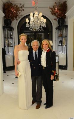 Princess Charlene of Monaco, Ralph Lauren, Ricky Lauren