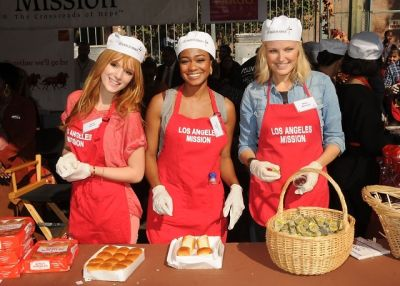 Bella Thorne, Tatyana Ali, Malin Akerman