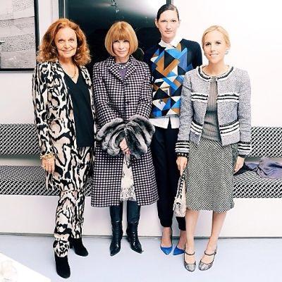 Diane von Furstenberg, Anna Wintour, Jenna Lyons, Tory Burch
