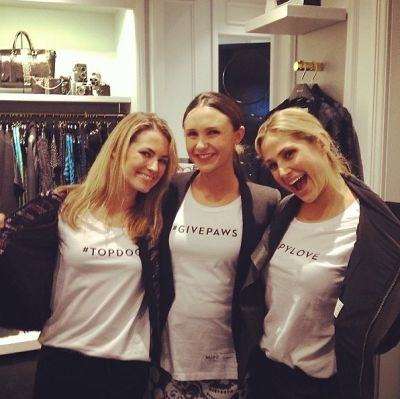 Amanda Hearst, Georgina Bloomberg, Kimberly Ovitz