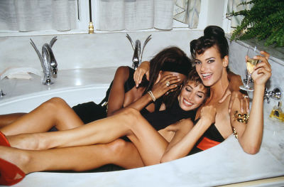 Naomi Campbell, Christy Turlington, Linda Evangelista