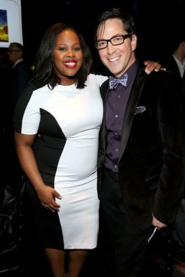 Amber Riley, Dan Bucatinsky