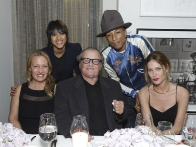 Diana Picasso, Helen Lasichanh, Jack Nicholson, Pharrell Williams, Erin Wasson