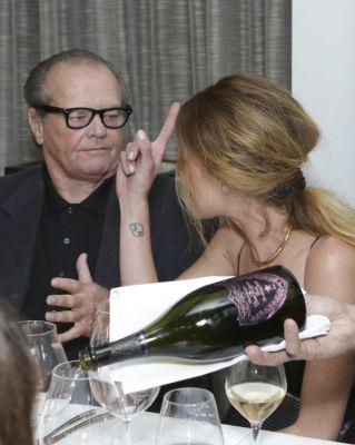 Jack Nicholson, Erin Wasson