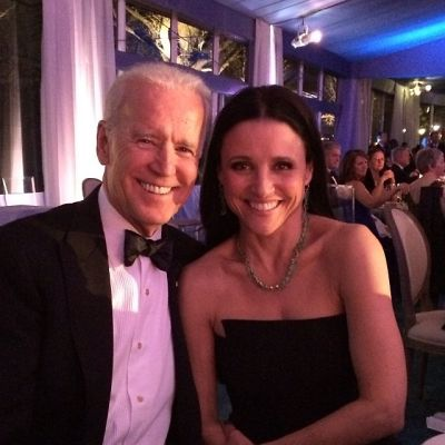 Joe Biden, Julia Louis-Dreyfus