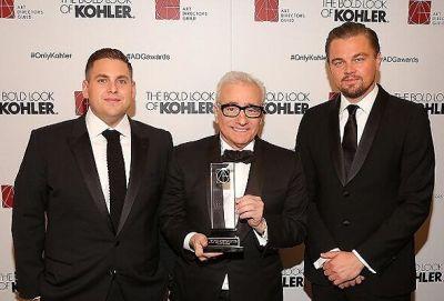 Jonah Hill, Martin Scorsese, Leonardo DiCaprio