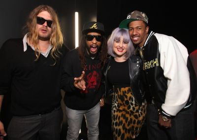 Luke Trembath, Lil Jon, Kelly Osbourne, Nick Cannon