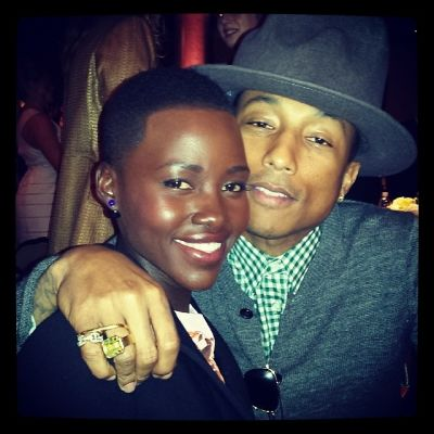 Lupita Nyong'o, Pharrell Williams