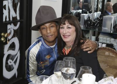 Pharrell Williams, Anjelica Huston