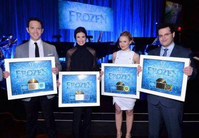 Santino Fontana, Idina Menzel, Kristen Bell, Josh Gad